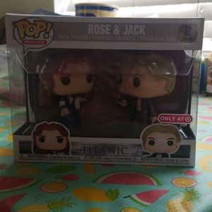 Rose and jack funko pop